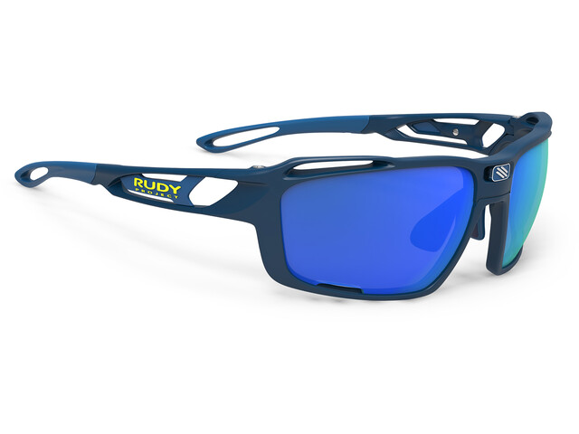 Rudy Project Sintryx Okulary rowerowe, blue navy matte - polar 3fx hdr multilaser blue